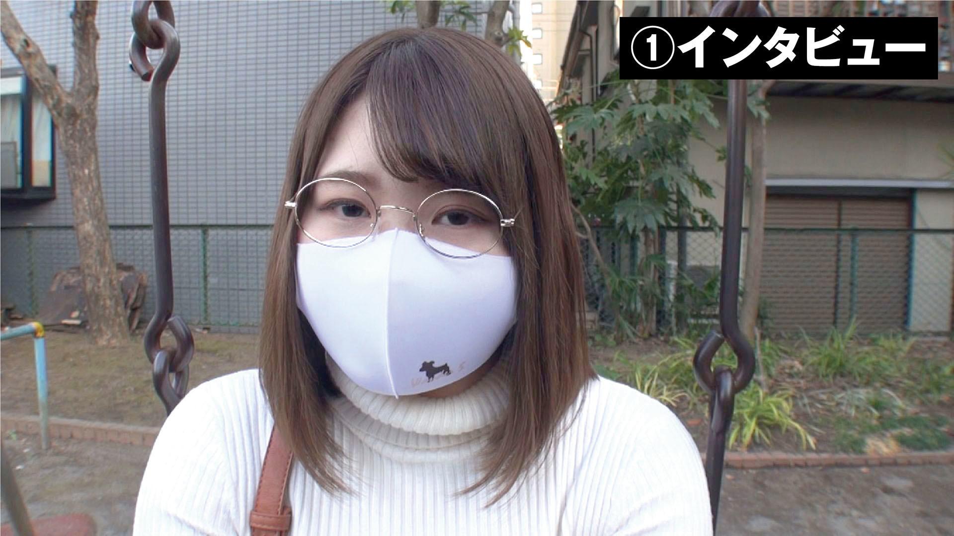 鳥取から上京した地味芋デカ乳女子まり 大学入学日にAVデビュー 画像1