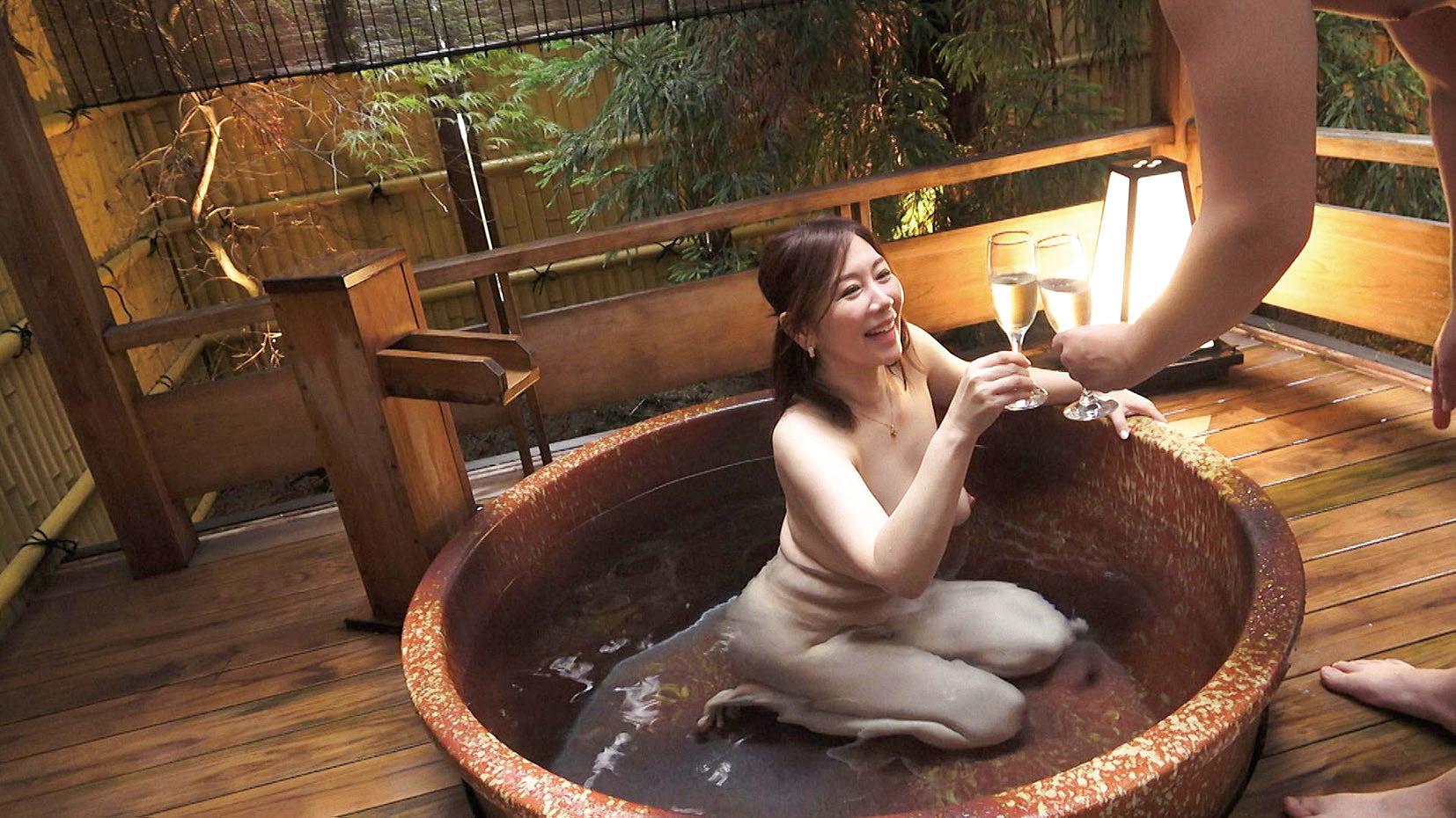 妻みぐい不倫旅行 ちさと(仮名) 52歳 画像5