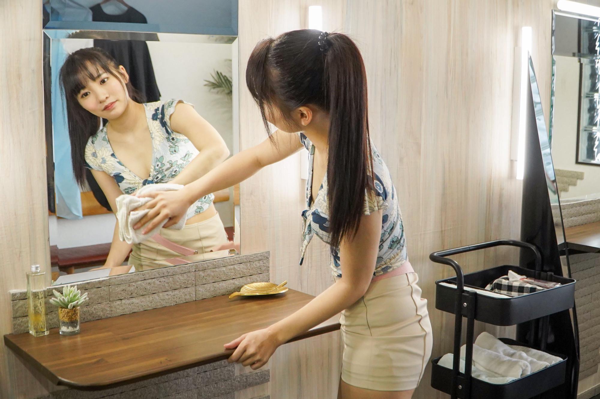 キュートな小悪魔店員が働く猥褻美容室 枢木あおい,のサンプル画像5