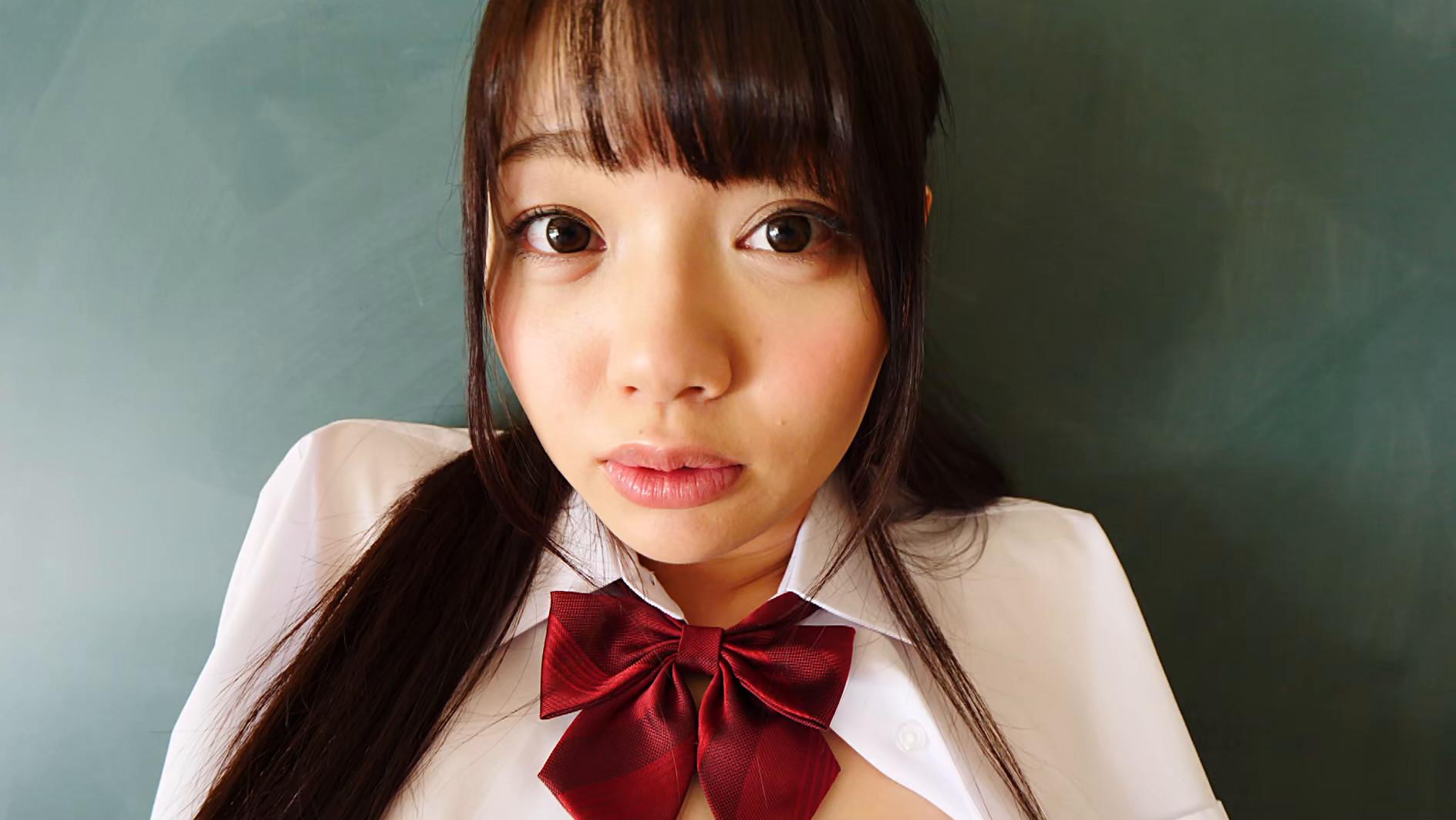 黒髪美少女は純真華憐 斎藤まりな 画像4