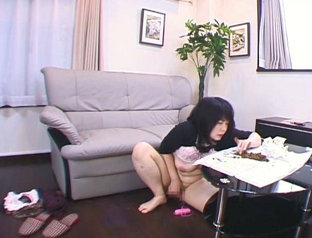 幼妻は自宅で大便まみれオナニーが日課です。 画像8