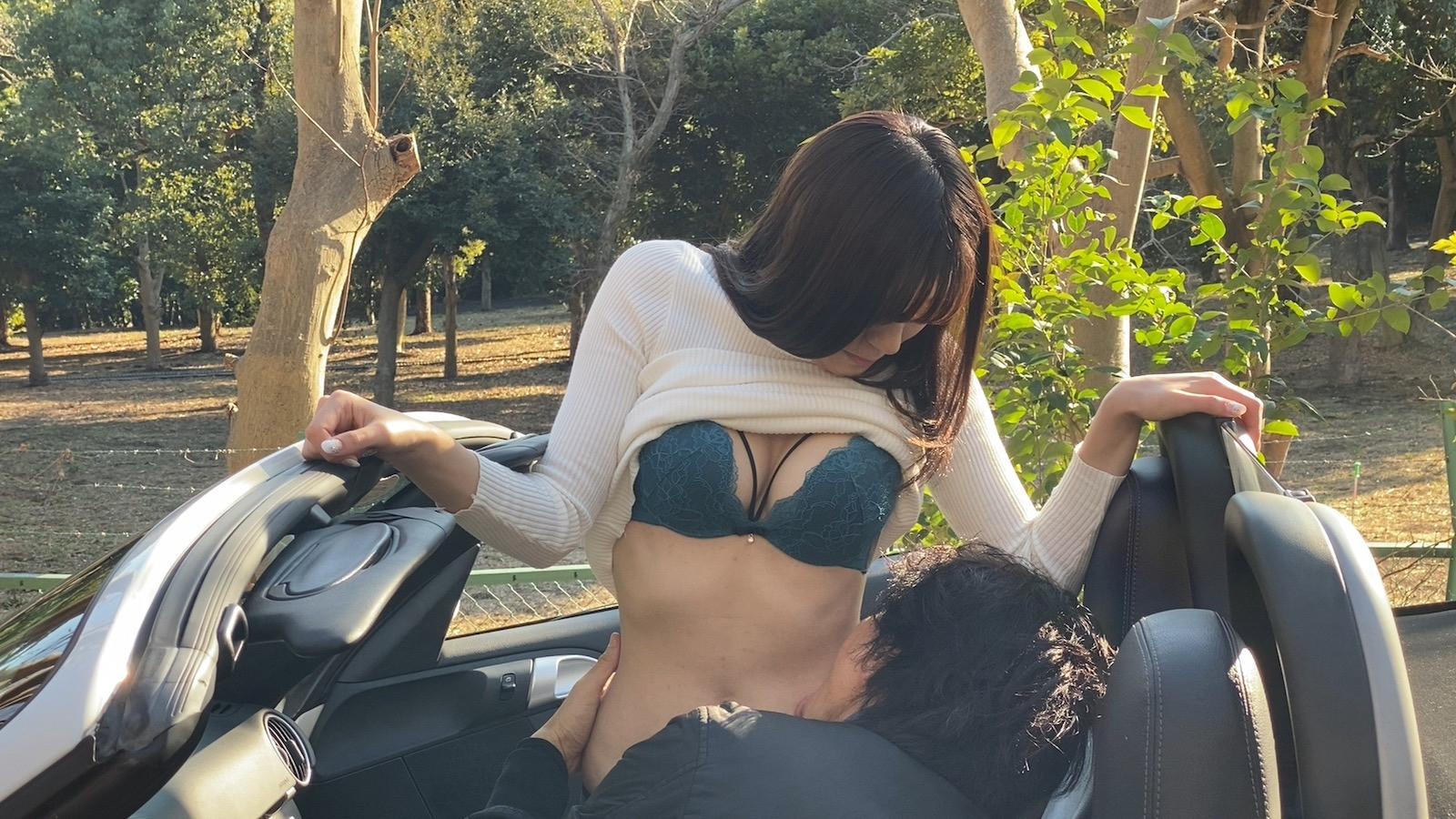 元ファッションモデルとポ○シェでカーセックスチョー最高! 希のぞみ 画像5