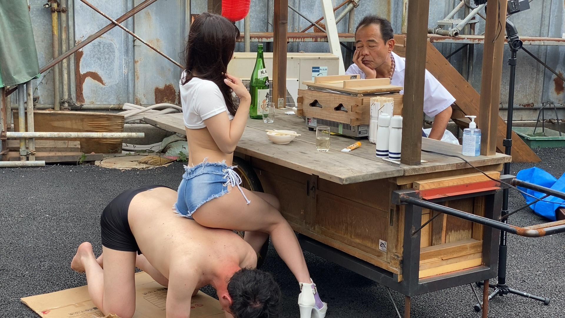 スーパードキュメント屋台ファック~おでん屋編~ 斎藤まりな