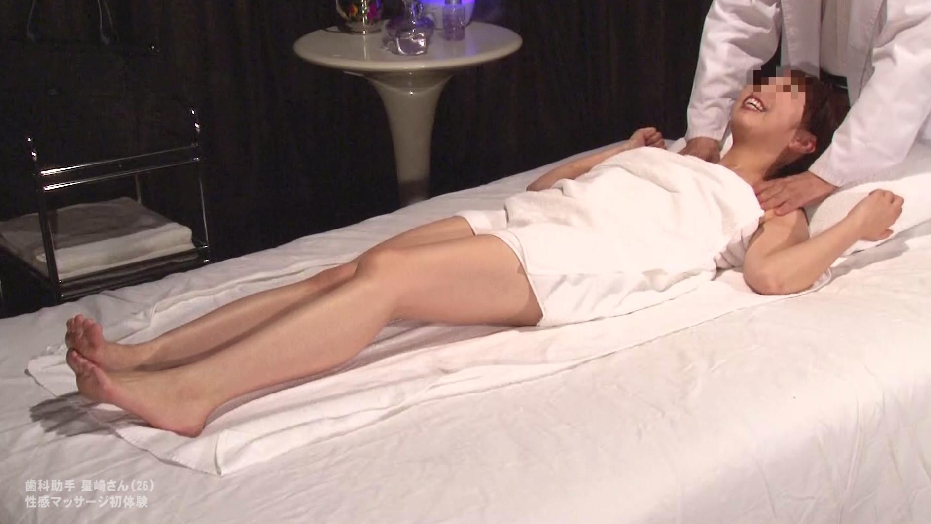 かわいい歯科助手のお姉さんを性感マッサージでとことんイカせてみた 画像18