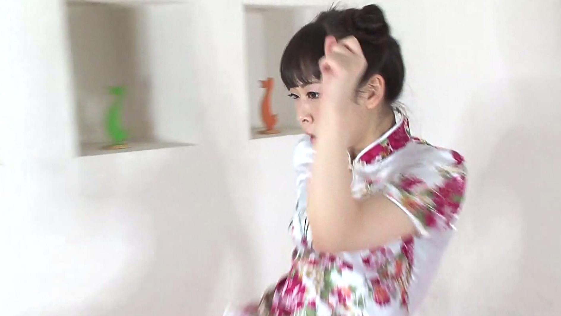 原美織が気功で発情しまくって鬼イキオナニー!超ミニスカのチャイナドレスが最高 画像10