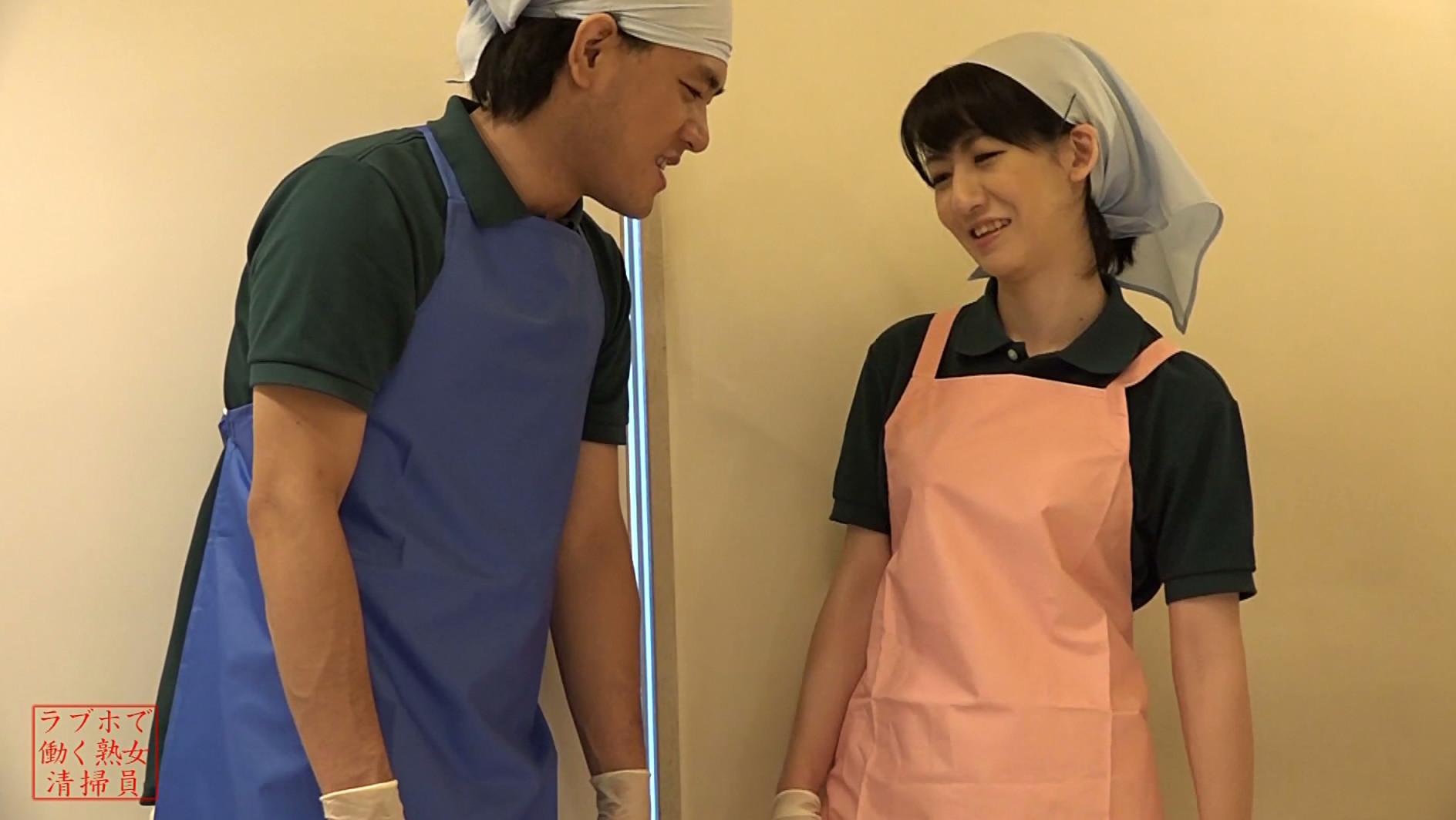 ラブホテルで働くワケあり美熟女清掃員~ここでバイトしたら一発ヤラせてくれるかな?,のサンプル画像1