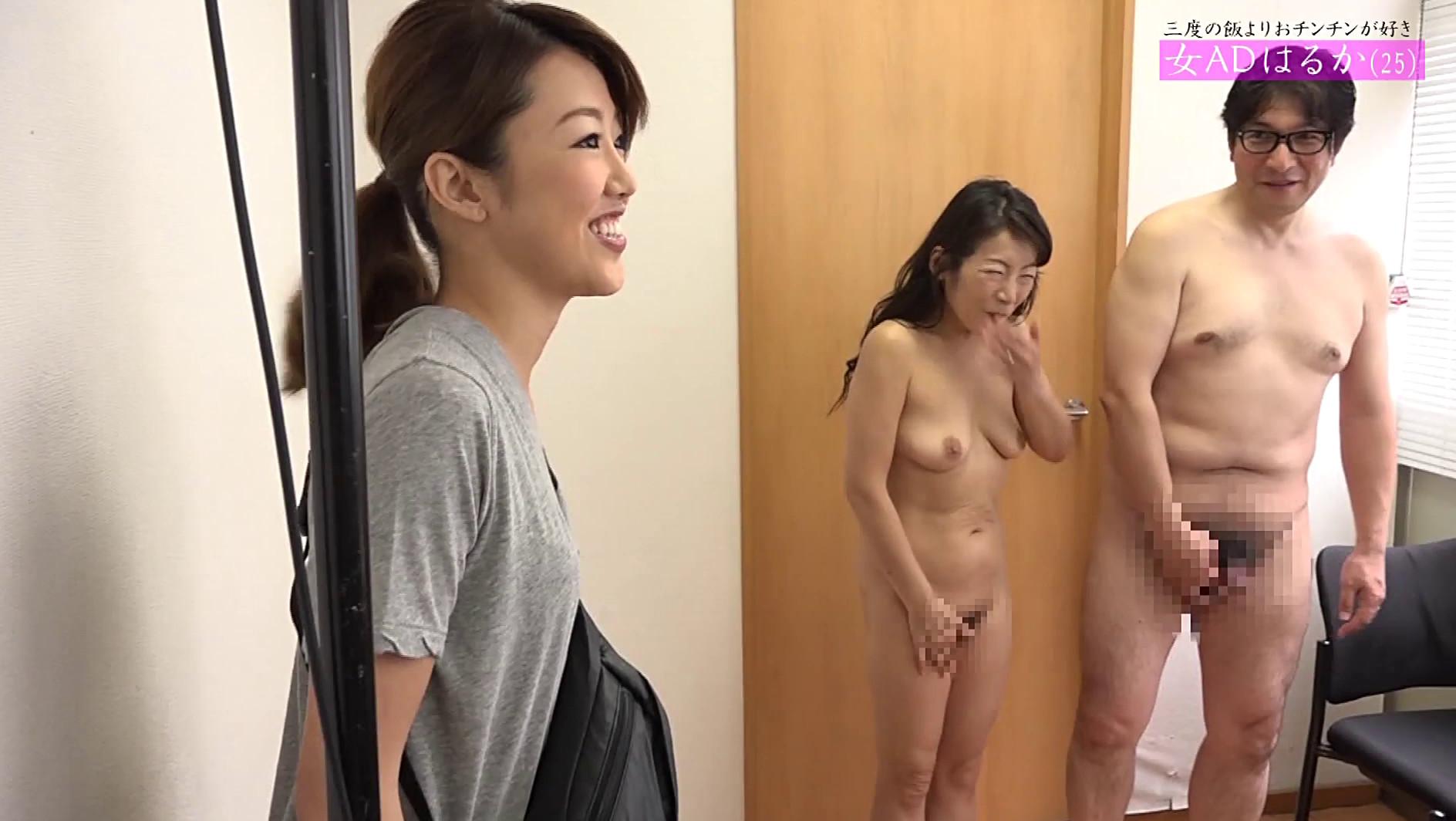 Ad エロ 動画 女性adが会社のためにカラダを張ってav出演~隠れ巨乳のメガネ美女・れい23歳&黒髪スレンダー娘・マキノ20歳