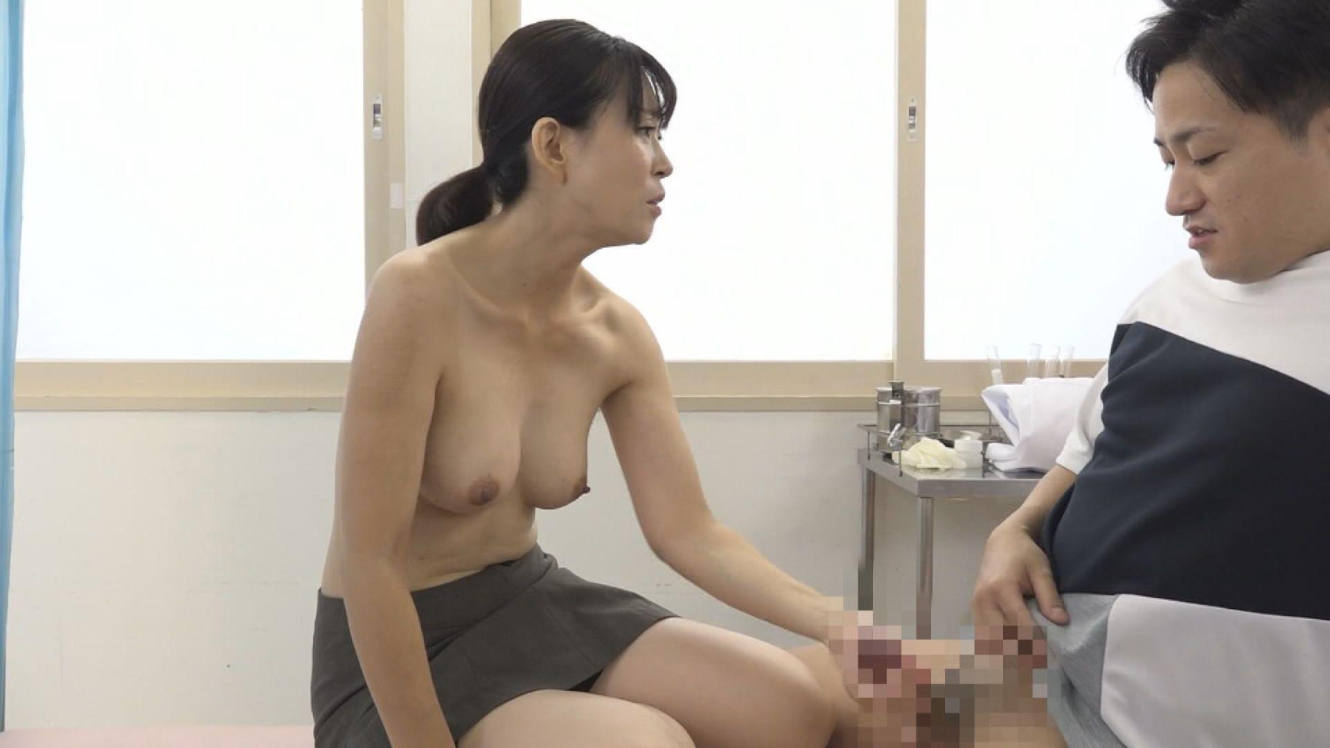 美人の先生がいる皮膚科に行って腫れたチンコを診てもらう流れでヌイてもらいたい(10) 画像11