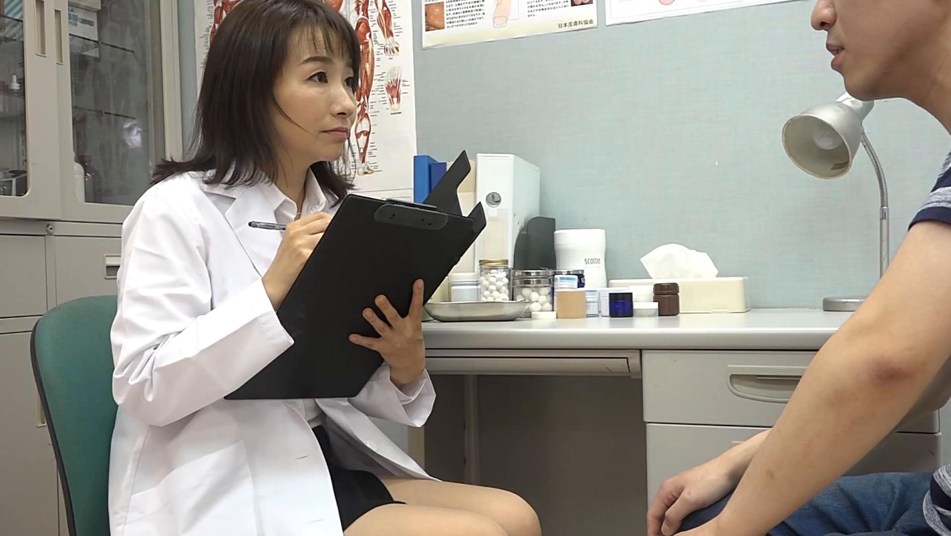 美人の先生がいる皮膚科に行って腫れたチンコを診てもらう流れでヌイてもらいたい総集編(3) 画像5