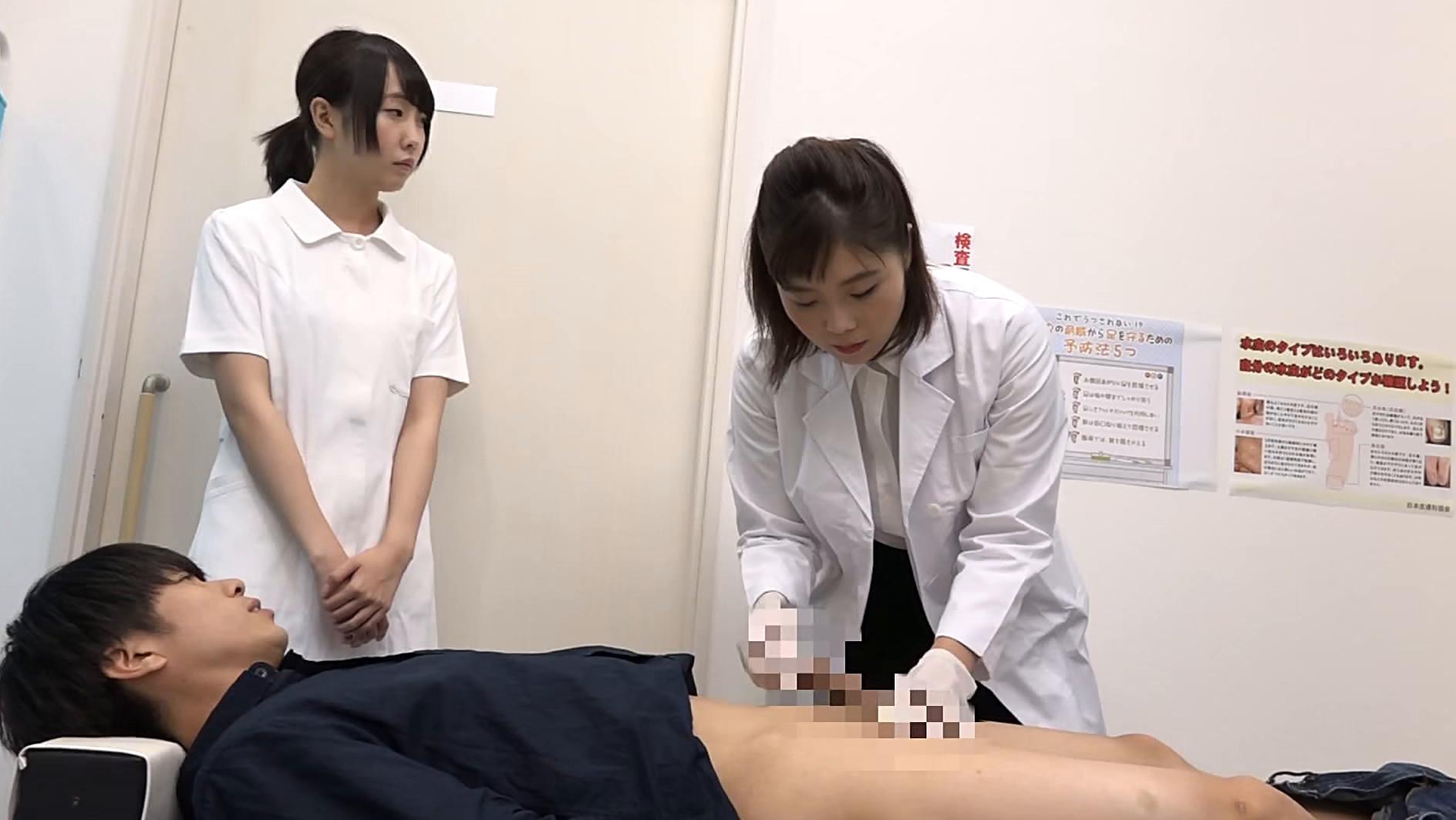 美人の先生がいる皮膚科に行って腫れたチンコを診てもらう流れでヌイてもらいたい総集編(3) 画像13