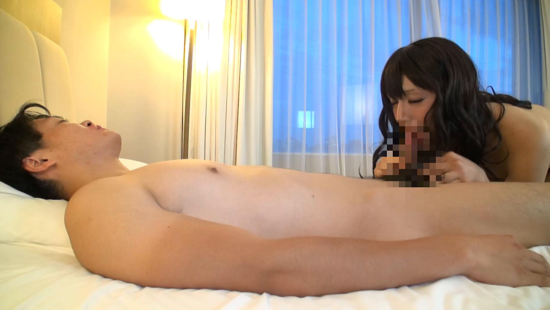 絶倫女装子デカマラ20センチ 紗咲愛美 画像10
