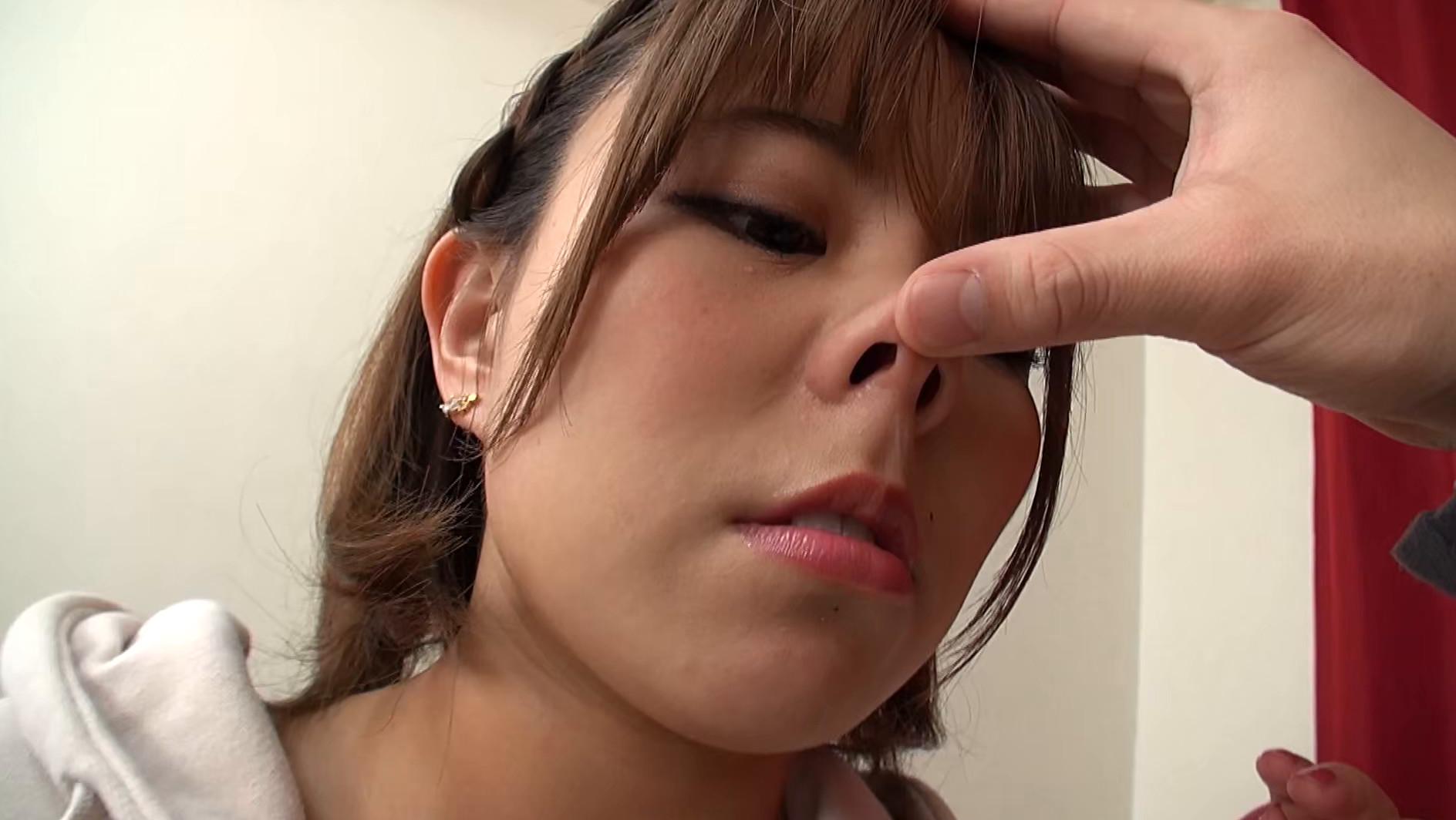 強制鼻フック牝豚鼻ザーメン 画像1