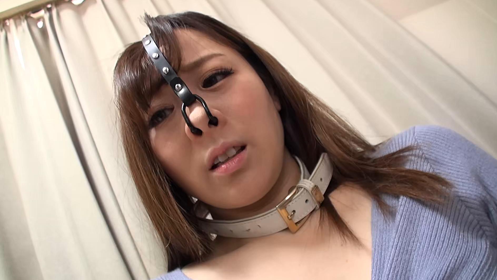 強制鼻フック牝豚鼻ザーメン 画像8