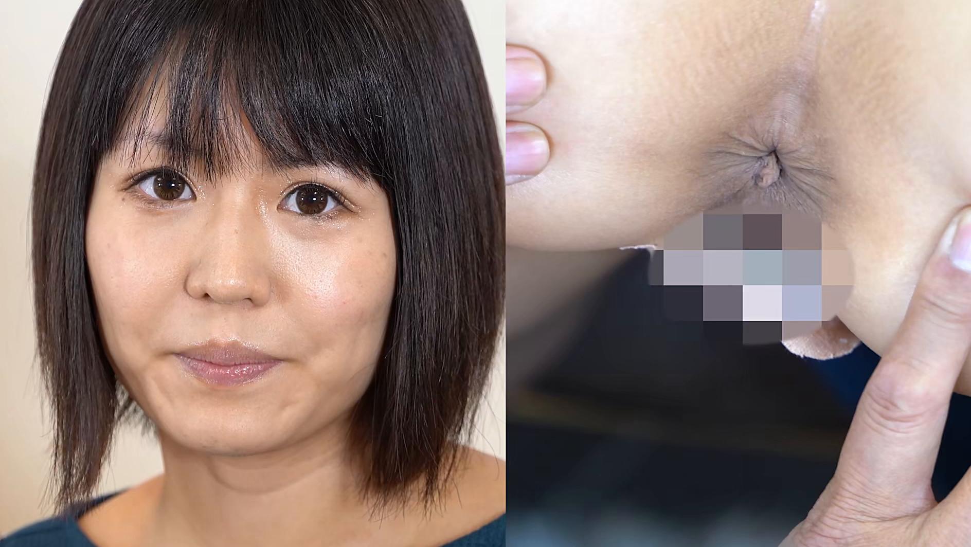 アナルを見せるのはイイけど、オ●ンコは・・・嫌だから前貼りを自分で貼ってお尻の穴を見せてあげる 長谷部智美 画像15