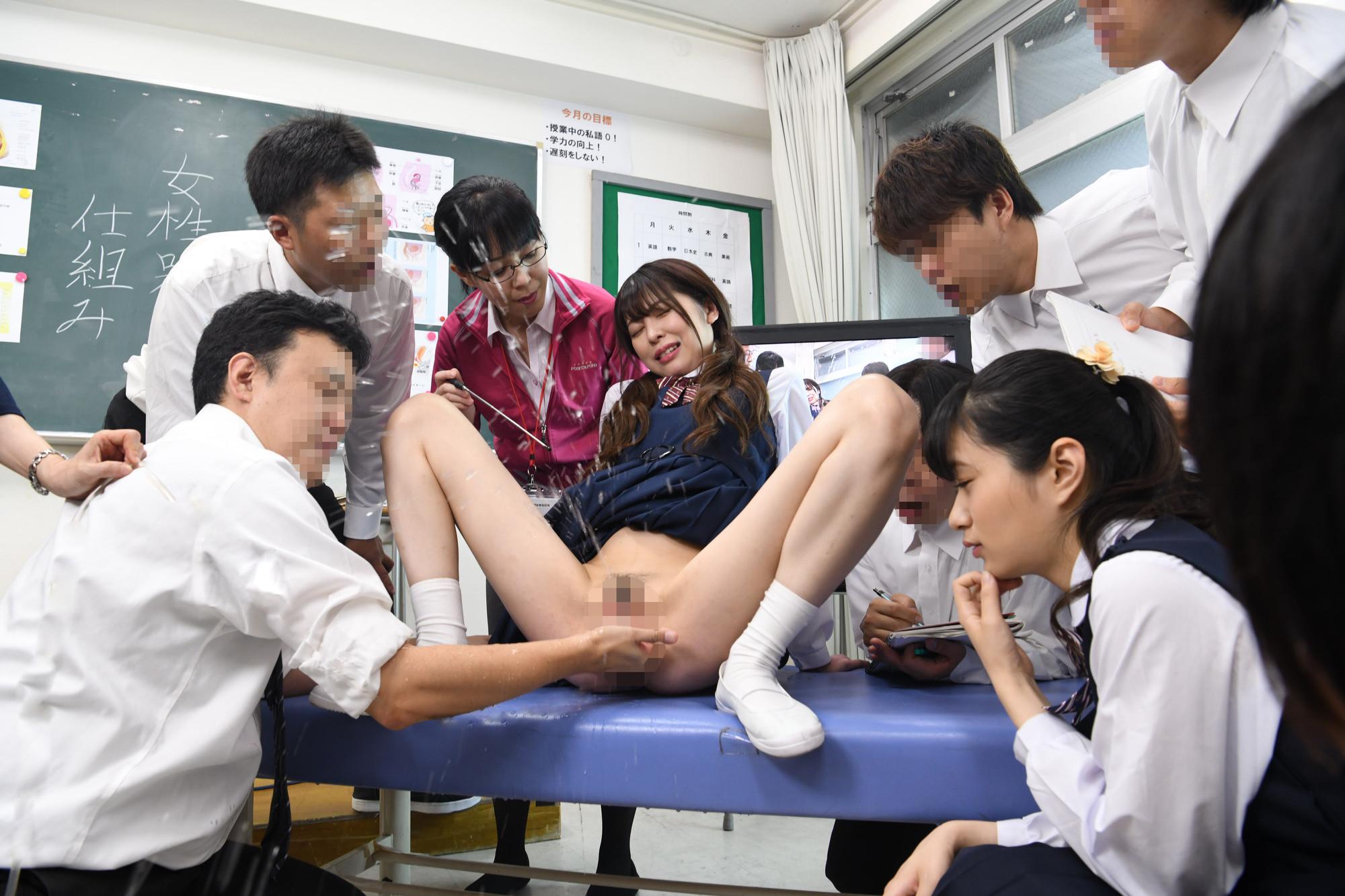 羞恥 男女が体の違いを全裸になって学習する質の高い授業を実践する共学高校の保健体育 5
