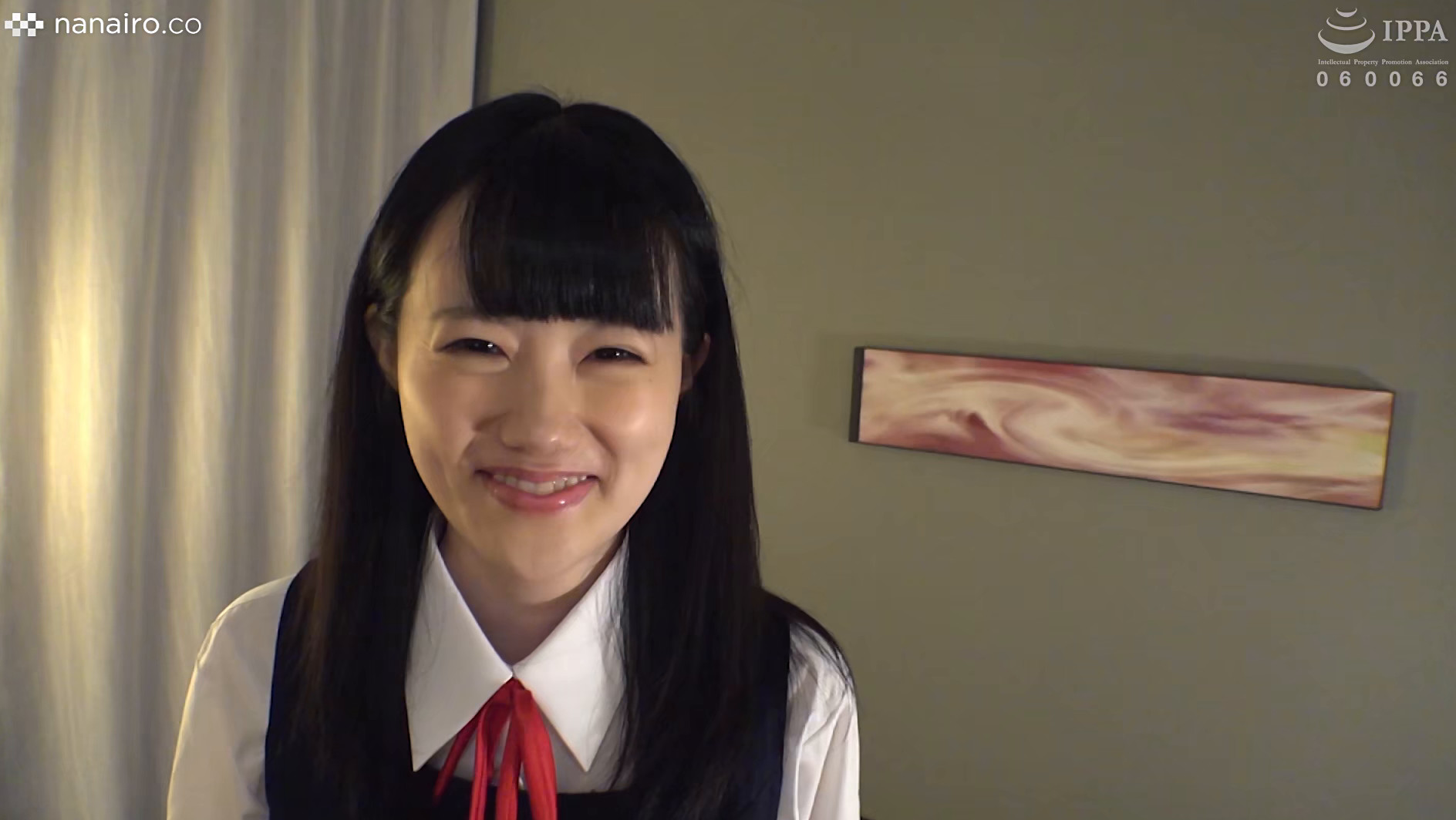 S-Cute With りさ(22) 黒髪制服美少女と中出しハメ撮りH