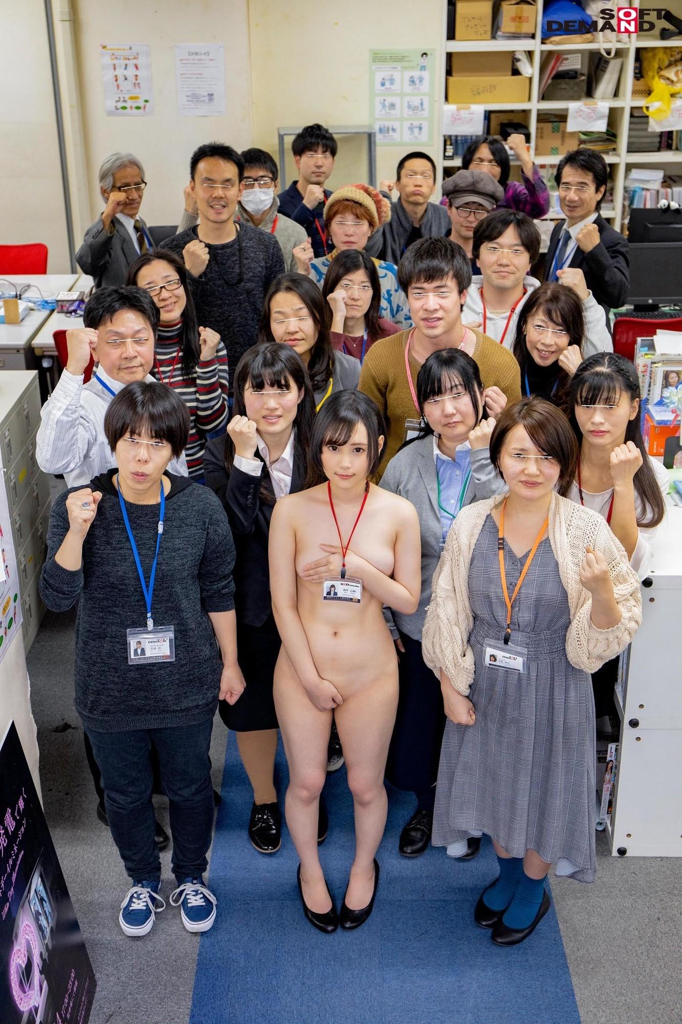 1週間全裸業務で羞恥心を克服!一回りも二回りも成長した浅井心晴の公開羞恥SEX