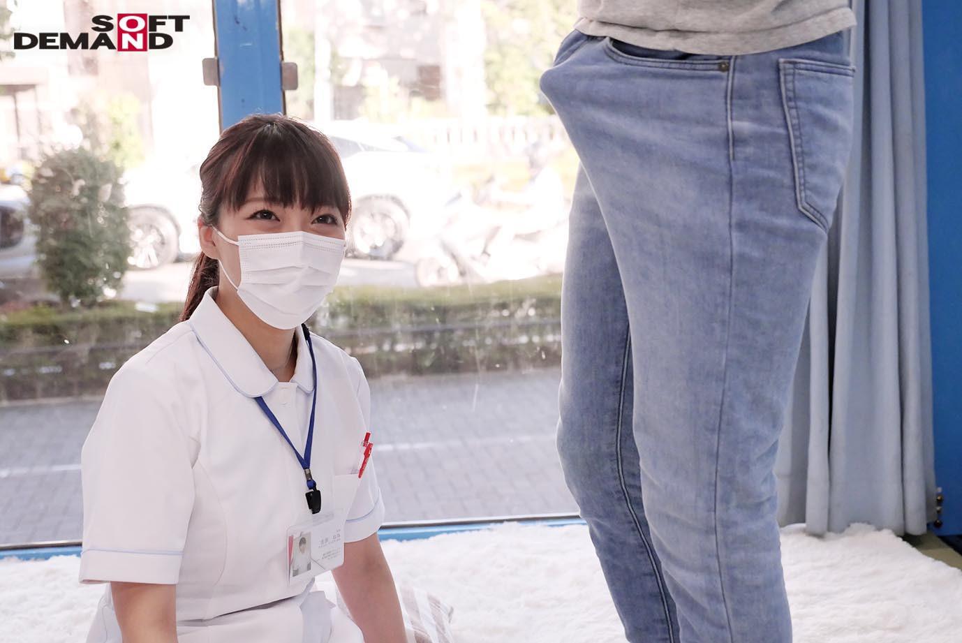 マジックミラー号 看護師限定 「絶倫ち○ぽ診察してくれませんか?」勃起が収まらなくて困っている男性をあの手この手で優しく導く白衣の天使たち 2 画像1