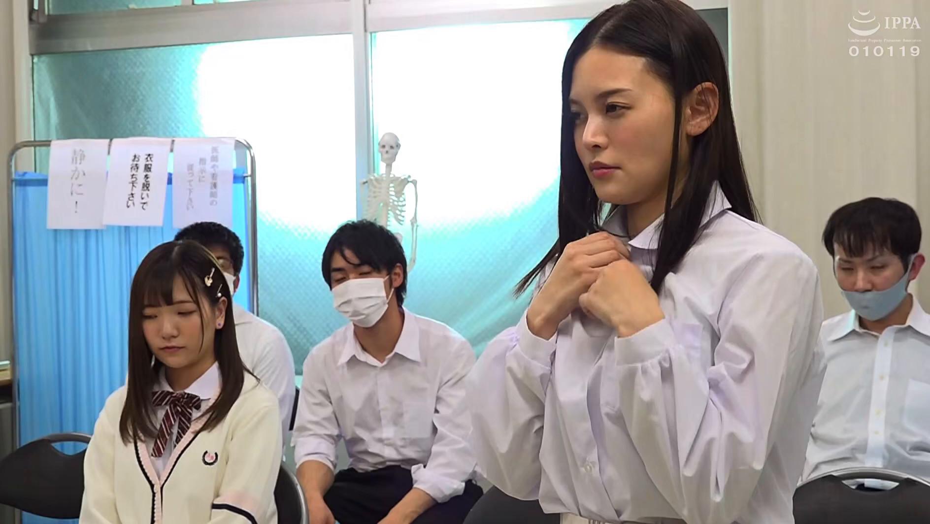 羞恥! 共学校で行われた男女混合 アナル健康診断 2021春 守永葵