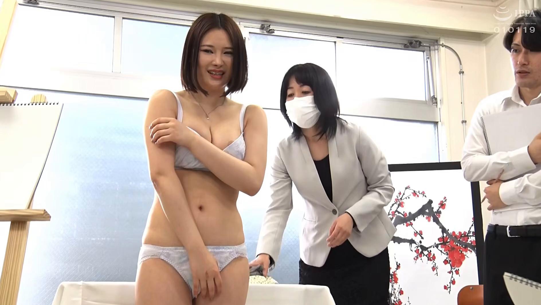 羞恥!春画のデッサンモデルにされる新任女教師! 皆川るい 画像3