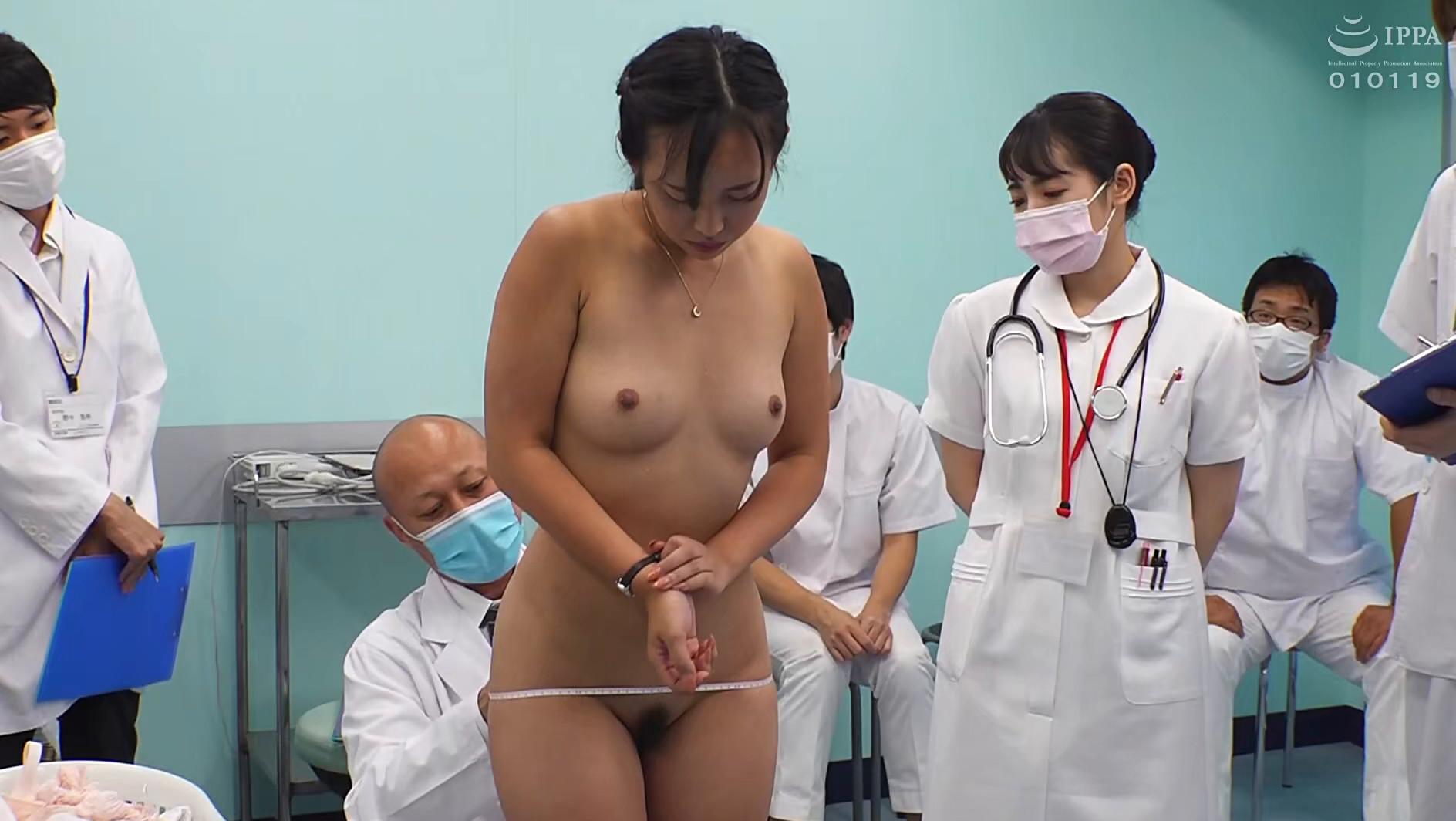 羞恥!新卒看護師着任前健康診断~朝陽えま編~