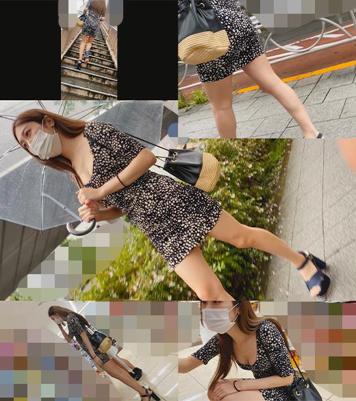 《特別記念作品》【アナル生挿入姦】現役超美人モデル ドエロワンピ 水色P #40 画像1