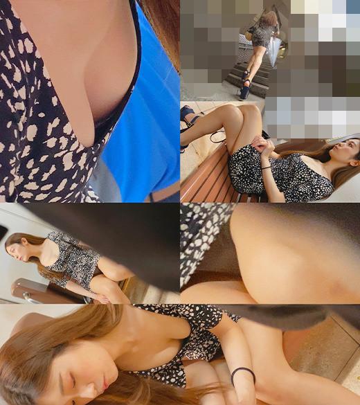 《特別記念作品》【アナル生挿入姦】現役超美人モデル ドエロワンピ 水色P #40 画像2