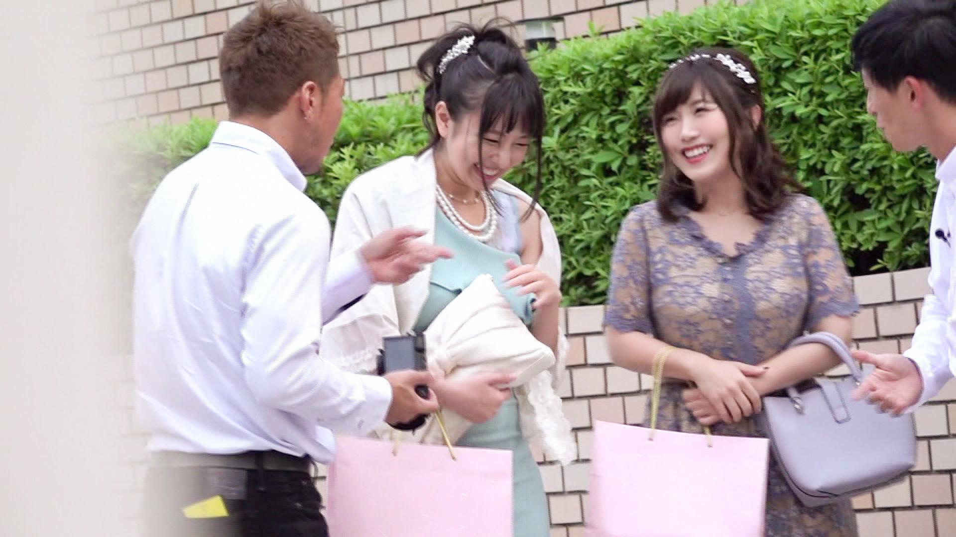 結婚式帰り×美女ナンパ 画像5