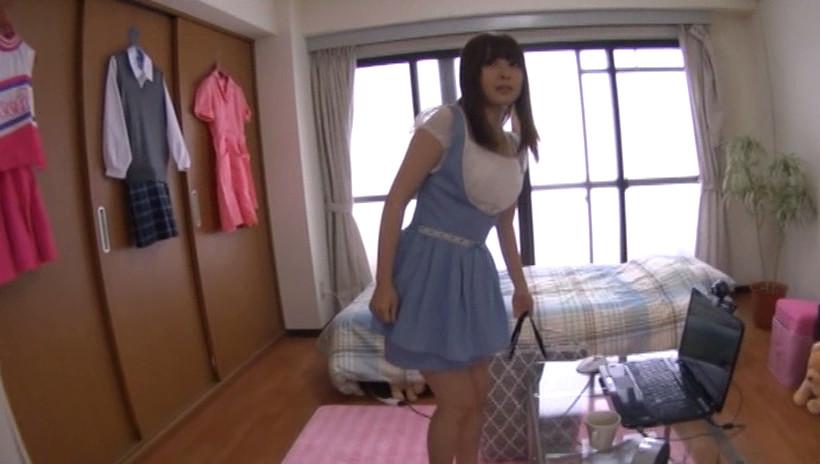 話題の有名動画サイトに出てる超カワイイ素人娘をAV出演させました。3
