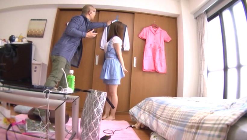 話題の有名動画サイトに出てる超カワイイ素人娘をAV出演させました。5