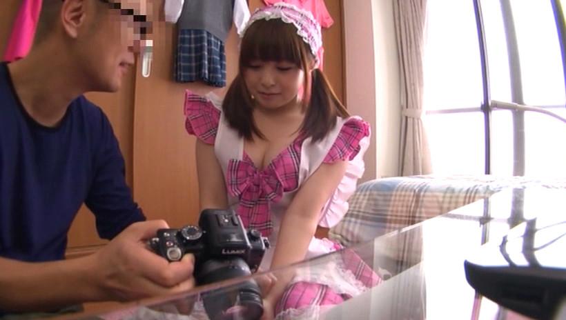 話題の有名動画サイトに出てる超カワイイ素人娘をAV出演させました。17