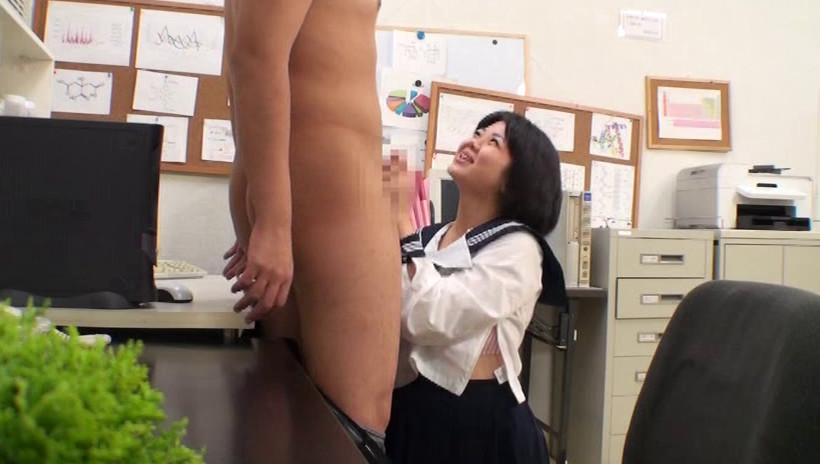 カワイイ顔してド変態!!痴女子高生 画像3