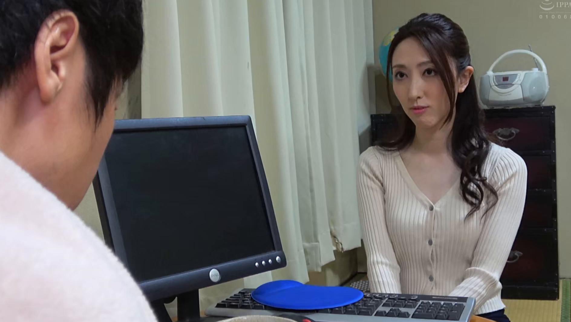 子供部屋おじさん(35歳無職の息子)を性処理する義母 柏原友美恵 画像1