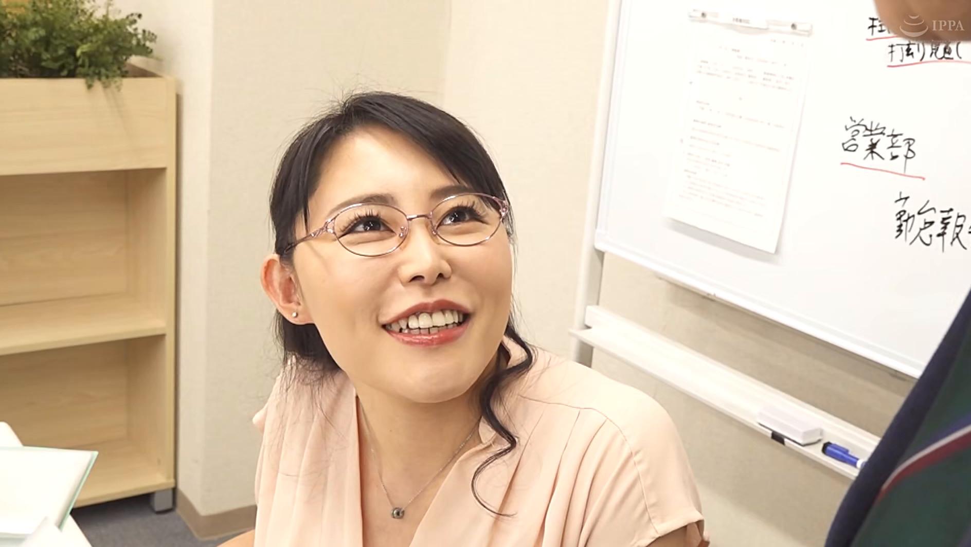 憧れの女上司と 純岡美乃理 画像1