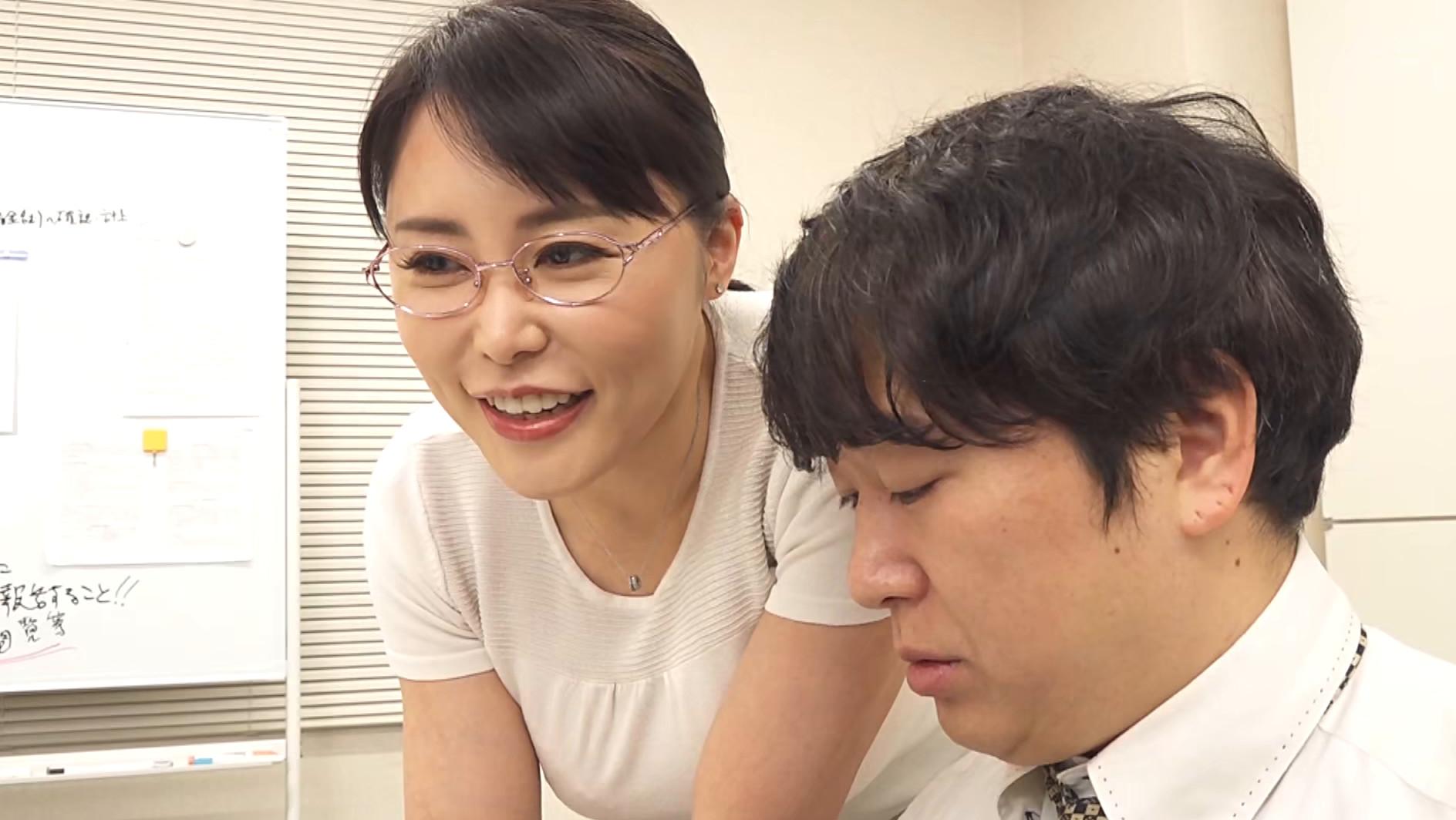 憧れの女上司と 純岡美乃理 画像3
