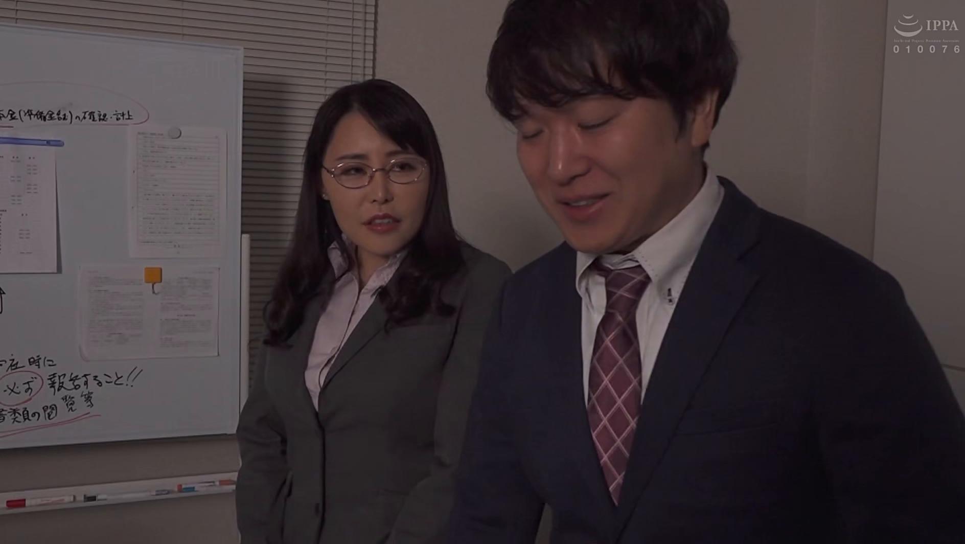 憧れの女上司と 純岡美乃理 画像4