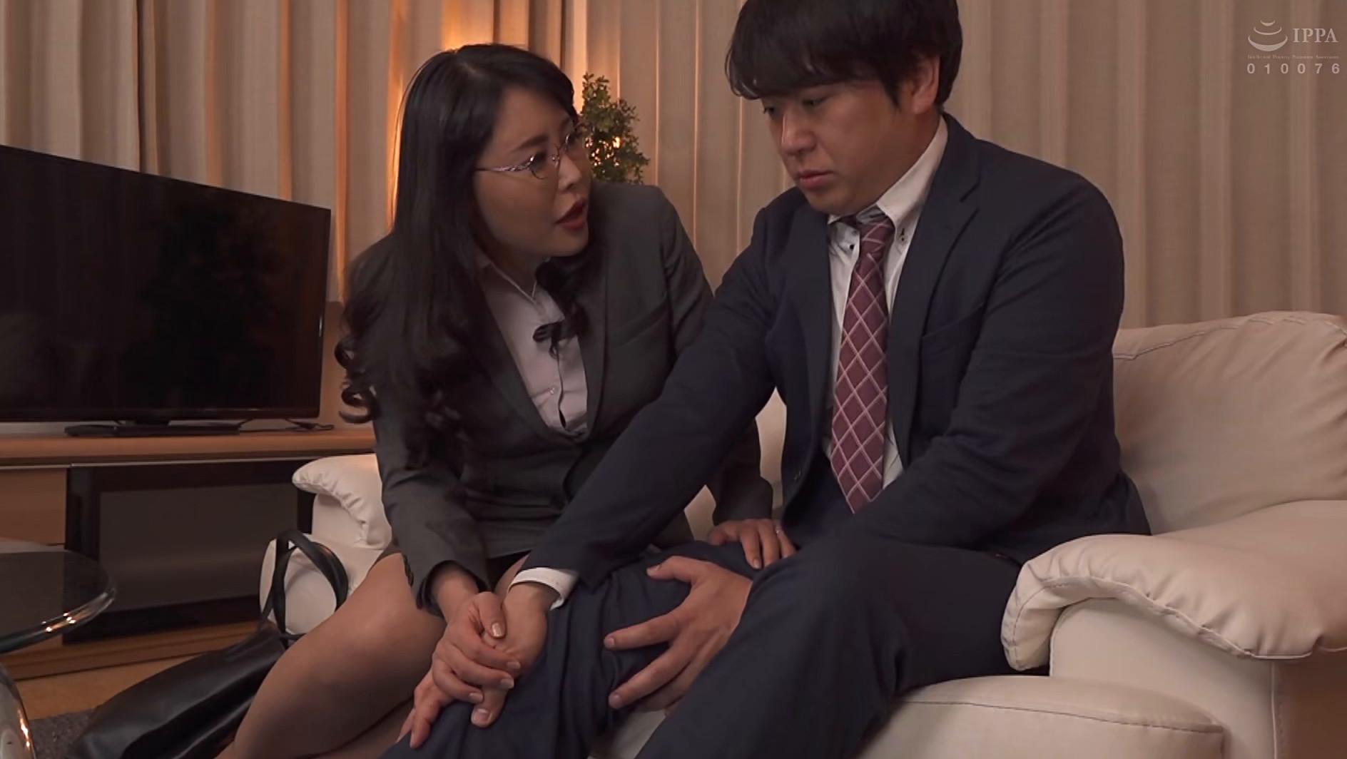 憧れの女上司と 純岡美乃理 画像6