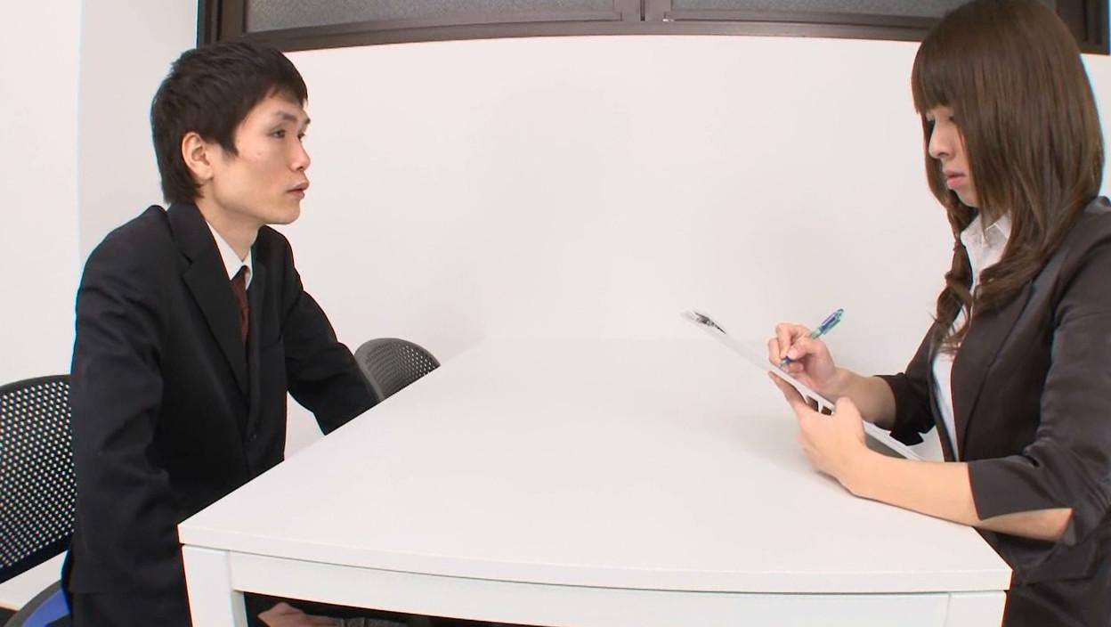 女性上位株式会社 チンポさらし面接 画像1