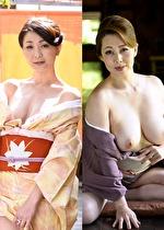 【風間ゆみ/艶堂しほり】 エロ女将が快楽絶頂SEXで禁断のおもてなし!