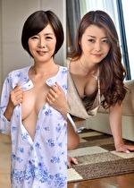 【北条麻妃/竹内梨恵】やけに色っぽい隣のおばさんとセックスしちゃいました!
