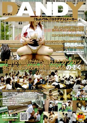 「高校教師だから撮れた!ガツガツ女子高生の校内発情SEXをのぞく!」