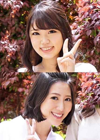 ふみさん(22) & さくらさん(26)