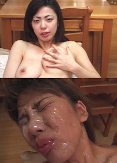 顔面フェラチオシャワー10連発 8