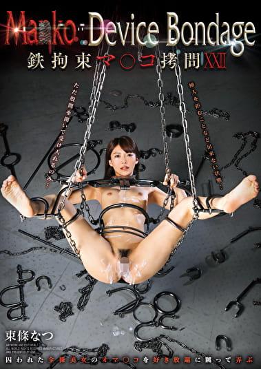 Ma○ko Device Bondage 22 鉄拘束マ○コ拷問 東條なつ