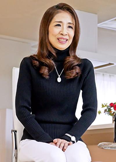 【六十路】ちえ子 62歳(初脱ぎ・茨城県出身・フラワーアレンジメント講師)