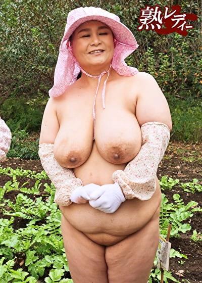 全裸若農婦は実在した!? 2