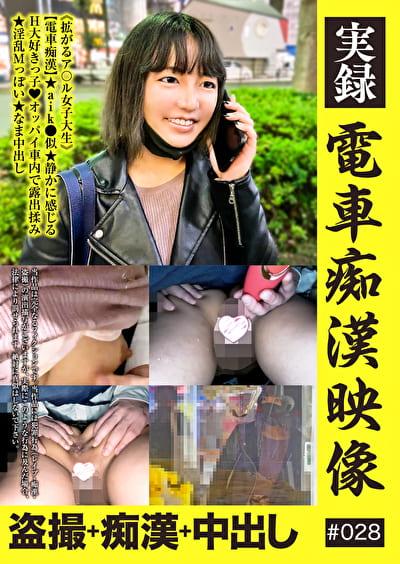 実録 電車痴漢映像 #028