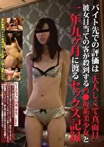 バイト先での評価は「大人しくて真面目」彼女目当ての客が殺到する乃●坂系美少女と一年九ヶ月に渡るセックス記録