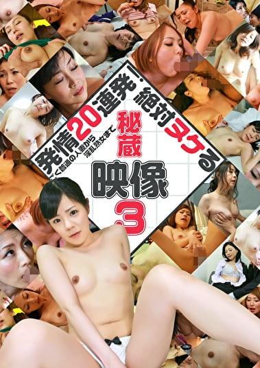発情20連発!ごく普通の人妻から淫乱熟女まで絶対ヌケる秘蔵映像(3)