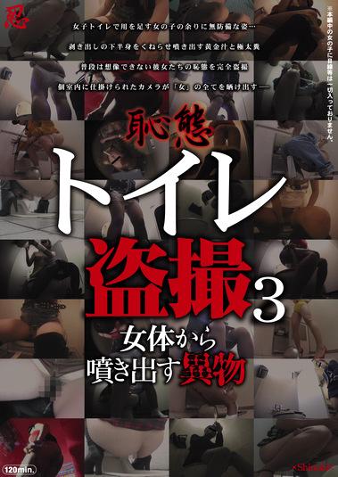 恥態 トイレ盗撮3 女体から噴き出す異物